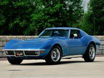 Chevrolet Corvette рестайлинг 1969, купе, 3 поколение, C3