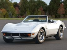 Chevrolet Corvette рестайлинг 1969, открытый кузов, 3 поколение, C3