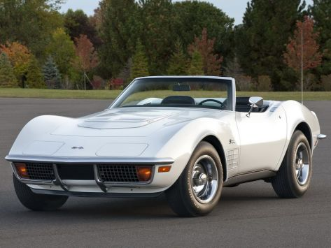 Chevrolet Corvette (C3) 09.1969 - 07.1972