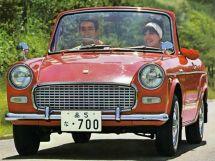 Toyota Publica 1963, открытый кузов, 1 поколение, P10