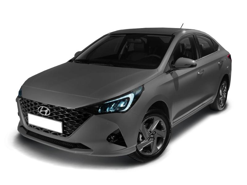Hyundai Solaris, 2020 год, 967 000 руб.