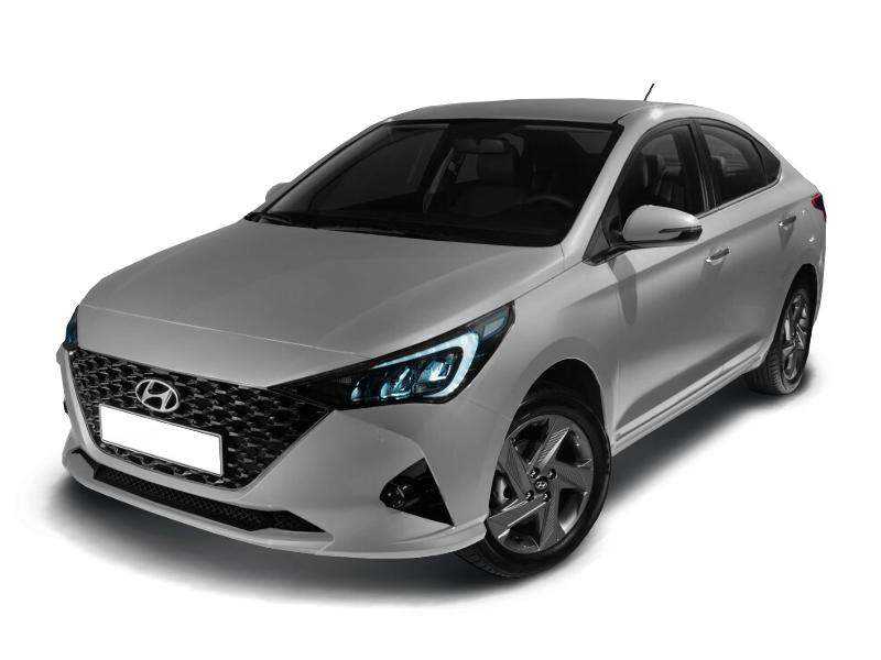 Hyundai Solaris, 2020 год, 1 077 000 руб.