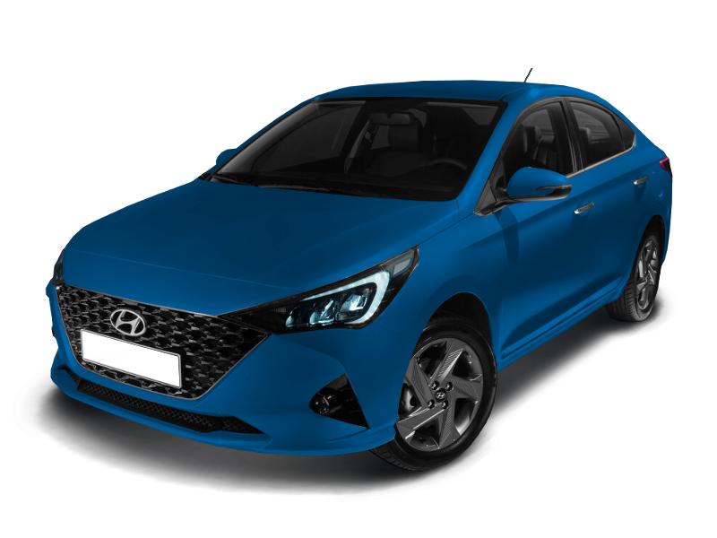 Hyundai Solaris, 2020 год, 1 212 000 руб.