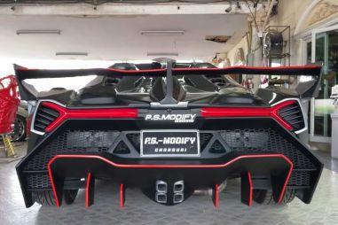 Toyota MR2 превратили в Lamborghini Veneno (ФОТО)
