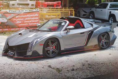 Toyota MR2 превратили в Lamborghini Veneno