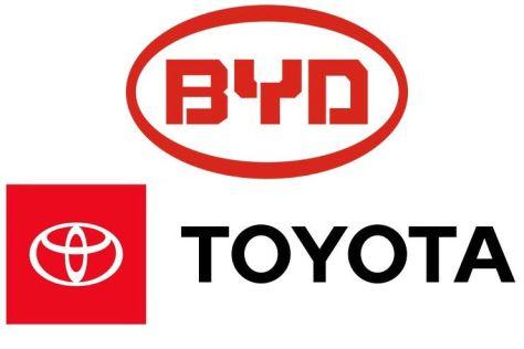 Toyota и BYD зарегистрировали совместную фирму