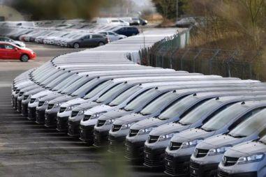Обвал продаж автомобилей в Европе: до -85% в марте