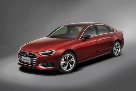 Удлиненную Audi A4L обновили (ФОТО)