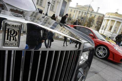 Названы регионы РФ, в которых больше всего люксовых автомобилей