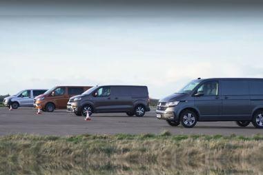 Автобаттл фургонов: VW Transporter против Ford Transit, Toyota Proace и Mercedes-Benz Vito (ВИДЕО)