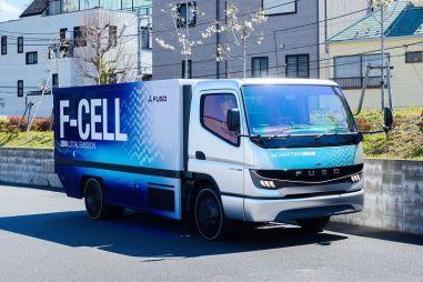 Mitsubishi Fuso объявила о планах по выпуску водородных грузовиков e-Canter F-CELL