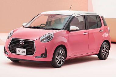 Под цвет маникюра: в Японии выпущена спецверсия Toyota Passo для дам
