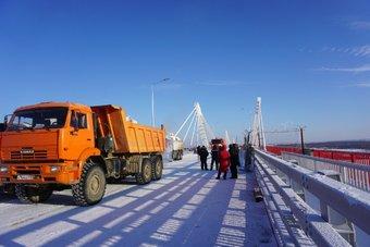 Приемочные испытания сооружение прошло в январе 2020 года.
