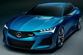 Следующая Acura TLX будет похожа на концепт-кар Type S 2019 года.