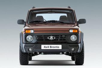 Bronto выпускается для любителей тяжелого бездорожья.
