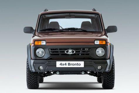 Обновленную версию самой дорогой Lada 4x4 выпустят в середине года
