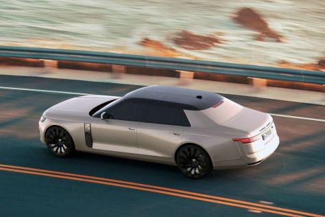 Российский дизайнер предложил переделать Range Rover в седан (ФОТО)