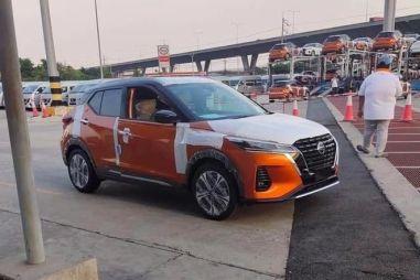 Так и не появившийся в России Nissan Kicks подвергли рестайлингу (первые ФОТО)