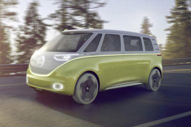 Volkswagen надеется оживить сегмент минивэнов при помощи I.D. Buzz