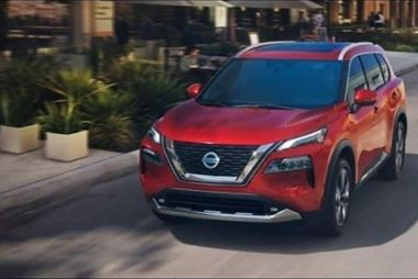 Nissan X-Trail показался на слитых в Сеть фотографиях