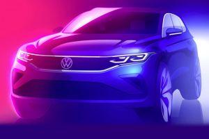 Обновленный Volkswagen Tiguan: первый тизер