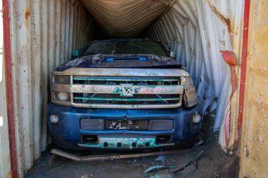 Два пикапа Chevrolet подняли со дна океана через два года: что с ними стало
