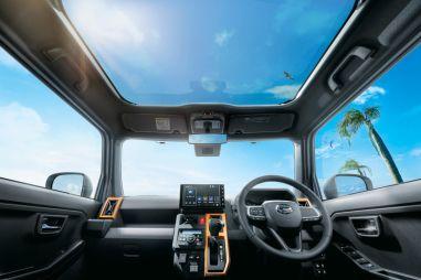 Для кей-кроссовера Daihatsu Taft предложат большую панорамную крышу