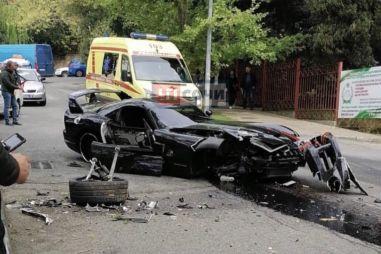 В Сочи «в хлам» разбили редкий Dodge Viper (ФОТО)