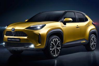Toyota создала кросс-Ярис для любителей вылазок на природу (ФОТО)