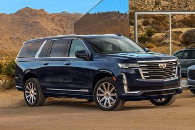 GM показал удлиненную версию нового Escalade