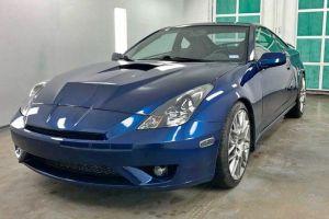 Инженер Toyota перевел купе Celica на задний привод и установил в него V8 от Lexus