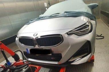 Купе BMW 2-Series следующего поколения приоткрыло завесу тайны