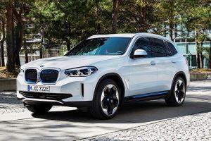 BMW iX3 неожиданно раскрыл свою внешность