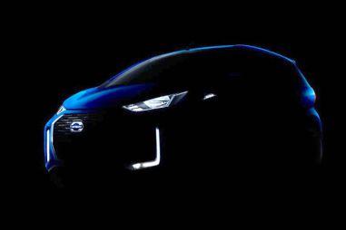 Nissan распространил тизеры рестайлингового Датсуна Редиго