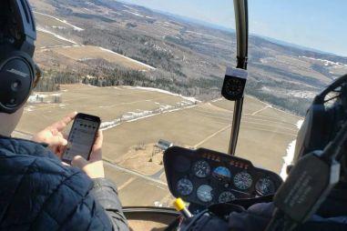 Автовладелец отследил угонщика с помощью частного вертолета (ВИДЕО)