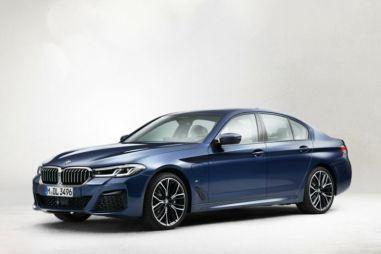 С рестайлингом «пятерка» BMW заметно преобразится