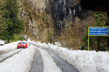 Сочи и Абхазия в «несезон»