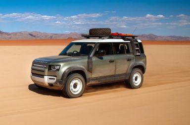 Новый Land Rover Defender: «Это не SUV, это 4х4»
