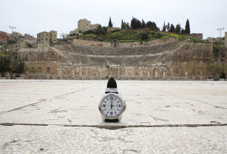 Римский амфитеатр в Аммане, Иордания