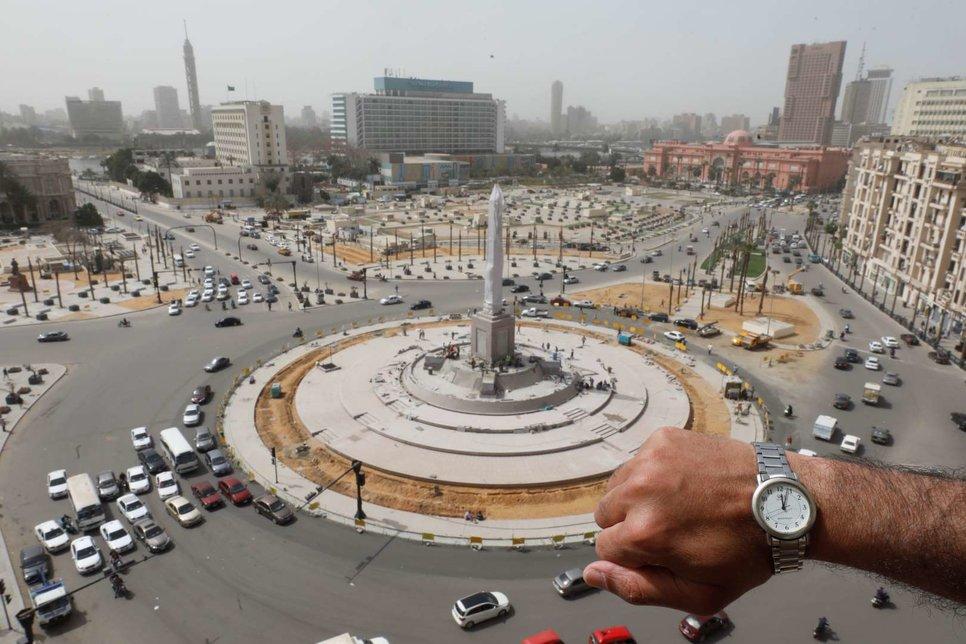 Площадь Тахрир в Каире, Египет