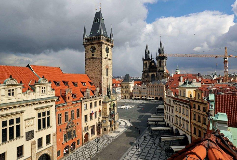 Староместская площадь в Праге, Чешская Республика