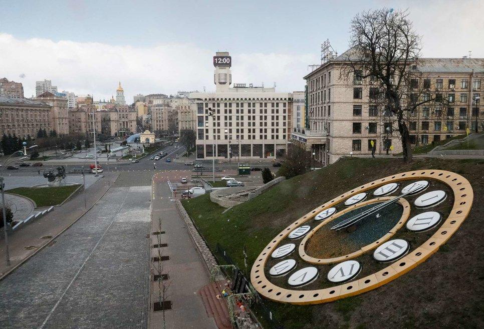 Майдан Незалежности (Площадь Независимости) в Киеве, Украина