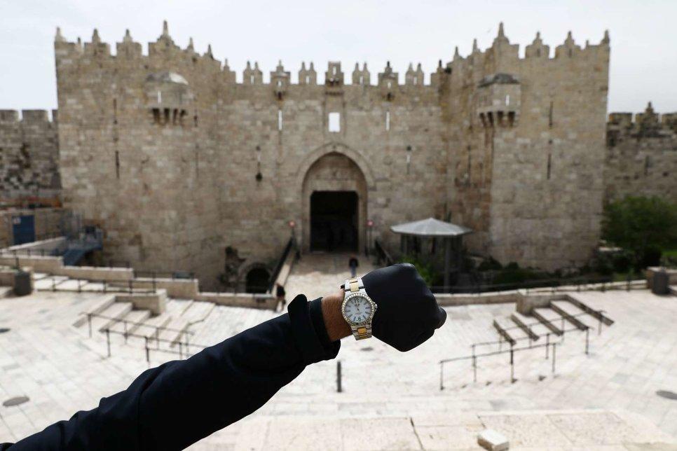 Дамасские ворота в старом городе Иерусалима