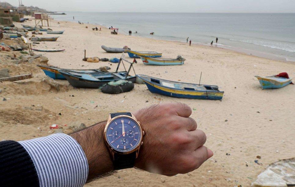 Пляж в северной части Сектора Газа, Палестинские территории