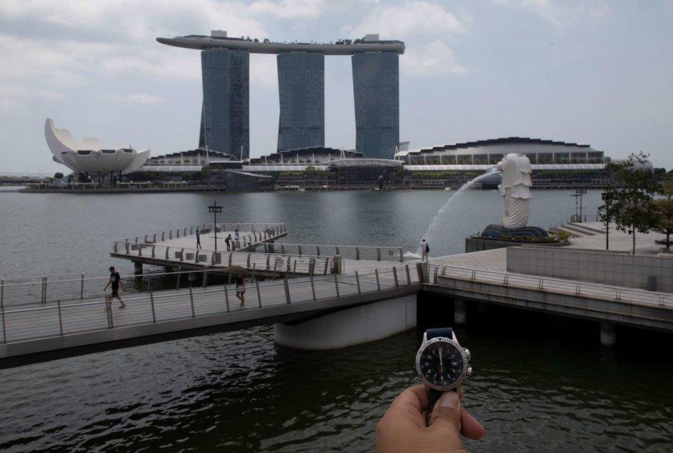 Мерлион Парк в Сингапуре