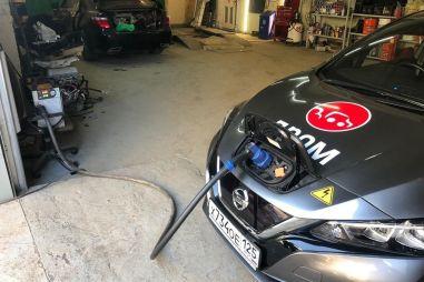 Как собрать быструю зарядку для Nissan Leaf: сколько стоит и есть ли смысл?
