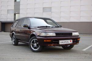 Народное ретро. Toyota Corolla EE98 1989 года. Планета Шелезяка, или Очарование простоты