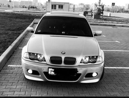 BMW 3-Series 2001 - отзыв владельца