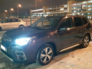 Subaru Forester 2019 отзыв автора | Дата публикации 06.04.2020.