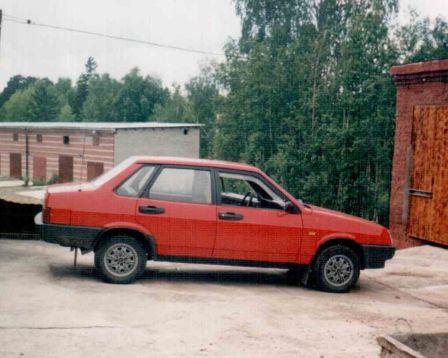 Лада 21099 1991 - отзыв владельца